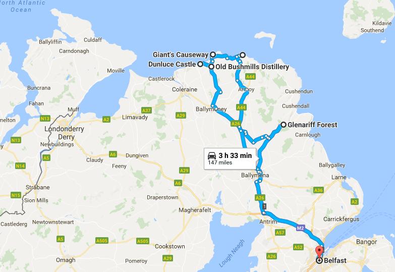 Northern Ireland Coast Tour
