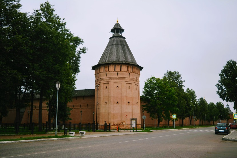 Spaso-Evfimiyev Monastery compound walls