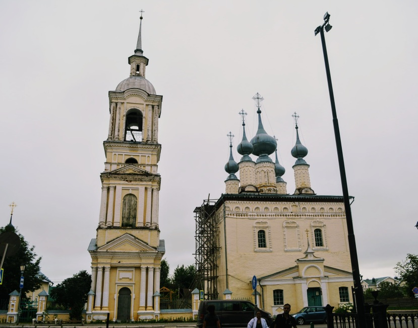 Church outside Suzdal monastery