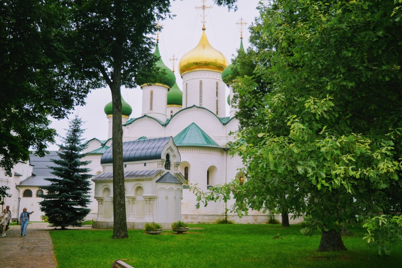 Cathedral within the Suzdal Monastery complex