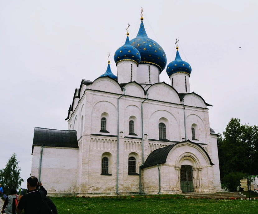 Inside the Suzdal Kremlin
