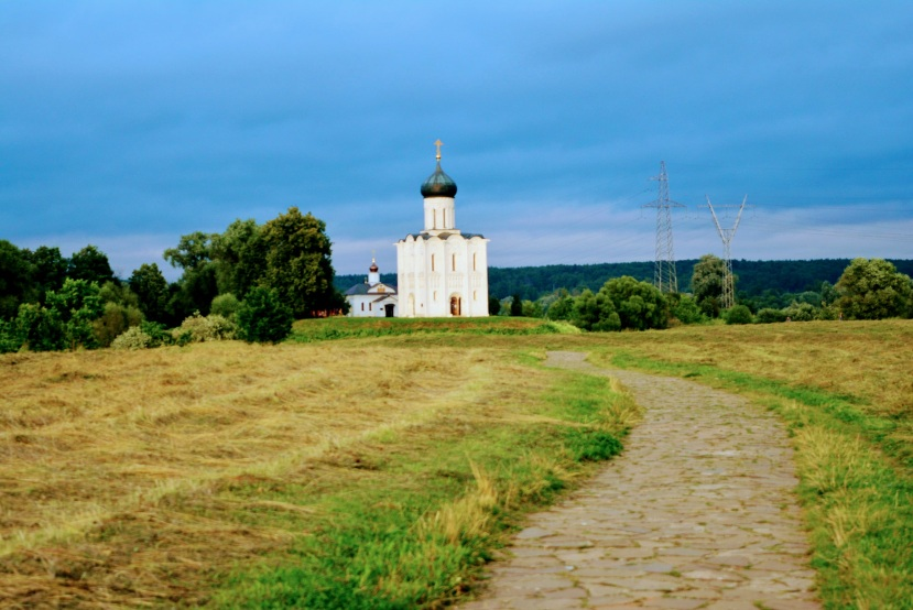 Bogolyubovo Church near Suzdal