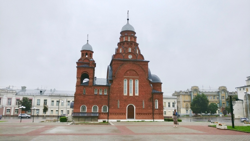 Church in front of the Golden Gates