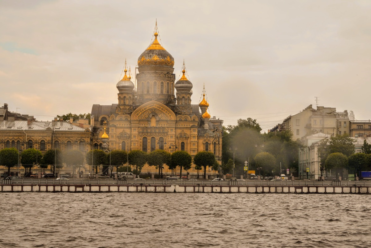 Cruise on the Neva River