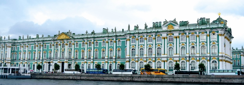 Hermitage State Museum from the Neva River