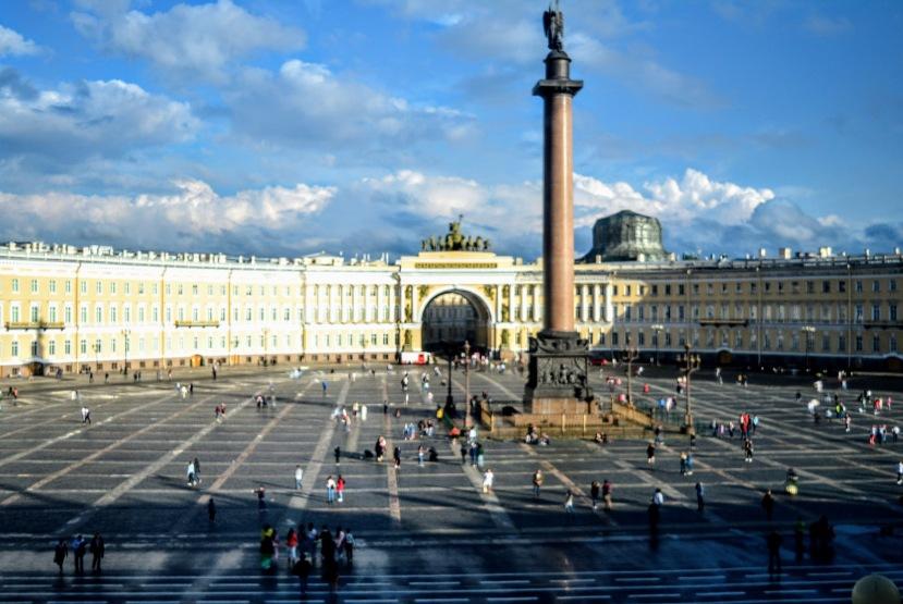 Hermitage Palace Square