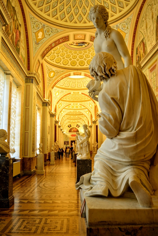 Hermitage museum corridors