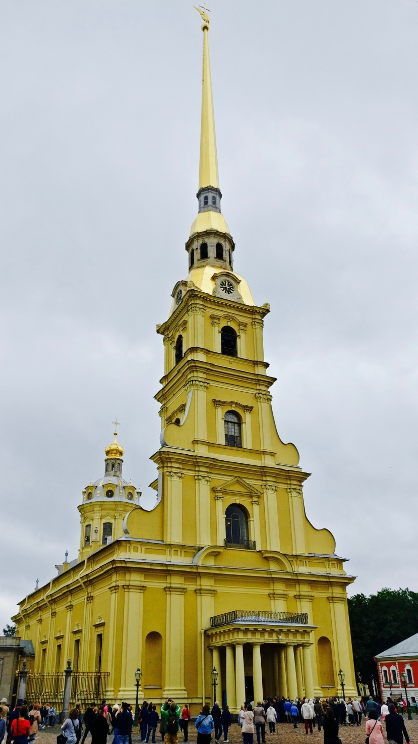 St Peter and Paul cathedral in St Petersburg