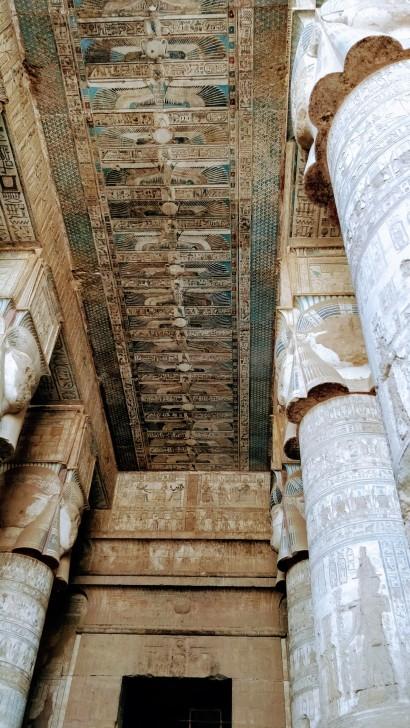 More paintings at Dendera and Abydos
